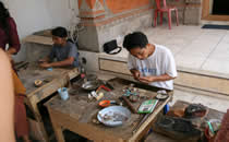 Handicraft in Balii.