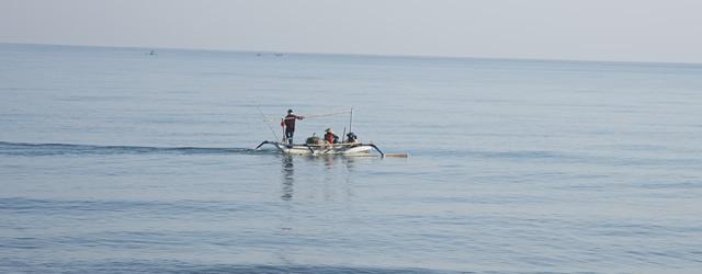 Des pêcheurs à Bali